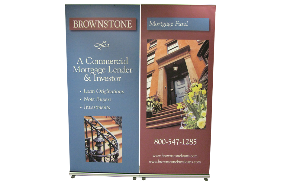Trade show bannerstands replacement graphics