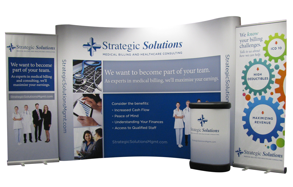 Strategic Communications Display