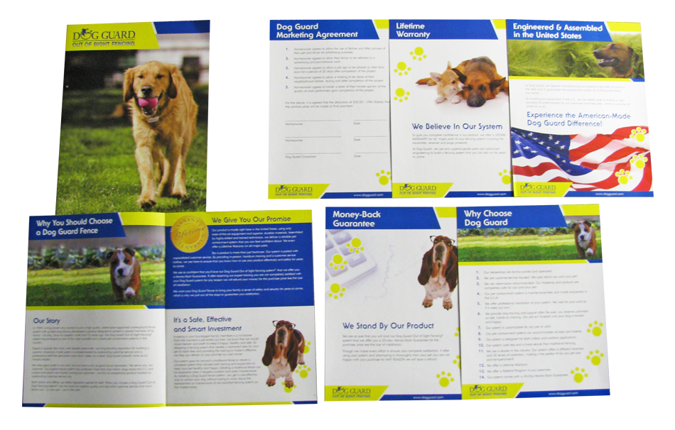 Dog Guard Marketing Packet