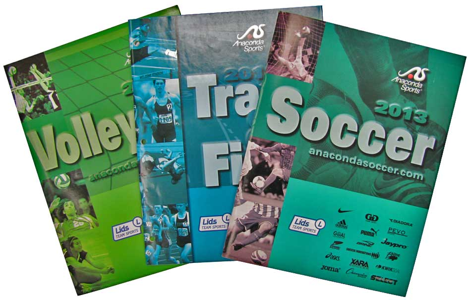 Anaconda Sports Catalogues