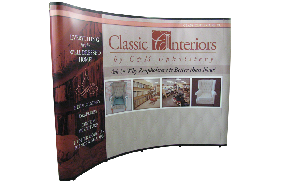 Tradeshow Floor Display Classic Interiors