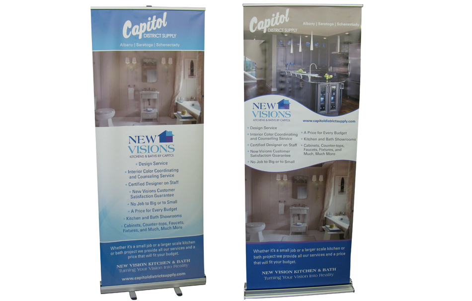 Design - Capitol Supply Banner Stands