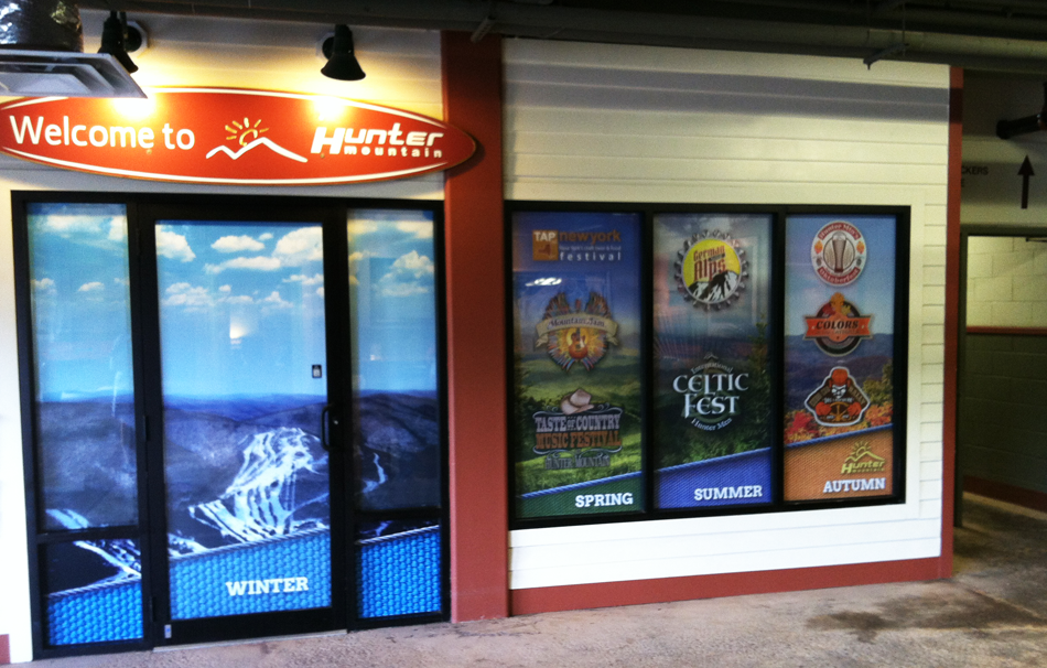 Window Graphic - Hunter Mountain