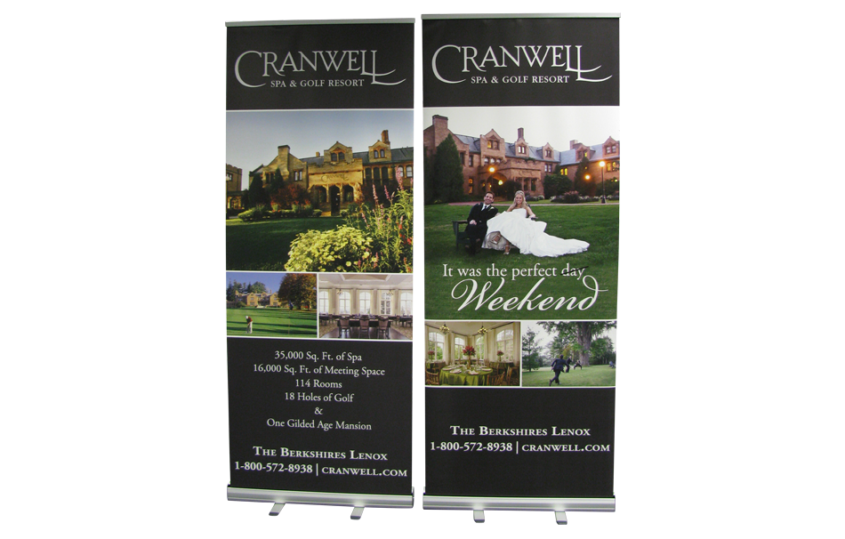 AMampJ Digital Design Banner Stands