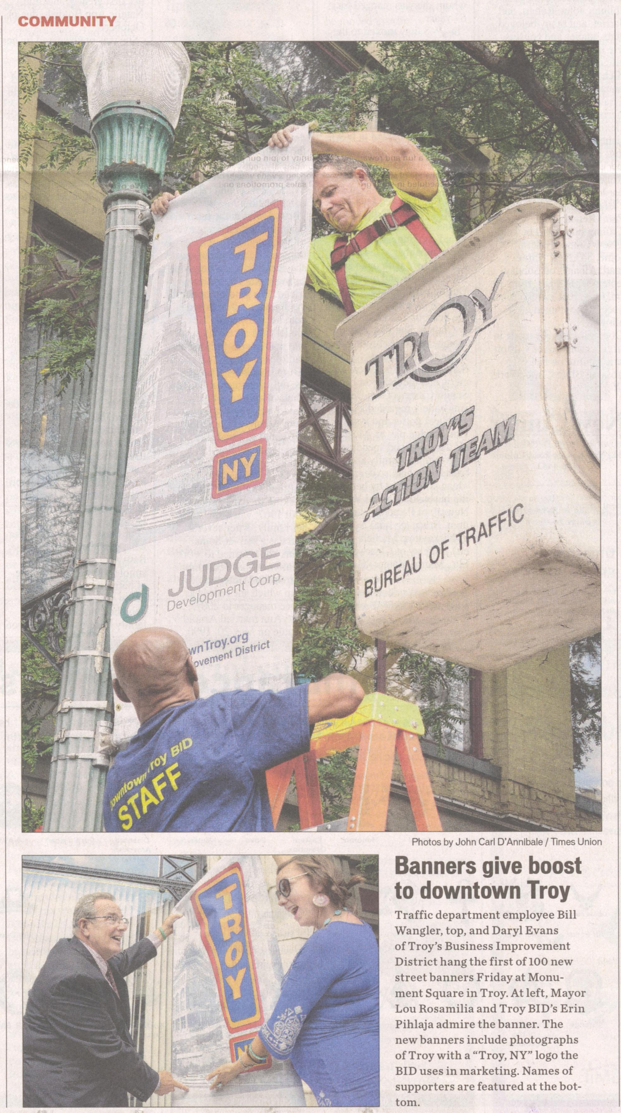 Pole Banners Albany Saratoga NY