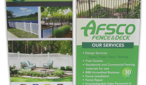 Design – Afsco Deck and Fence
